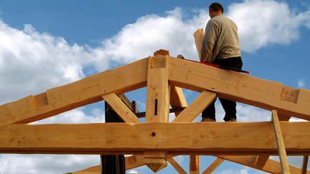 Bois charpente traditionnelle et mat riaux de for La charpente en bois